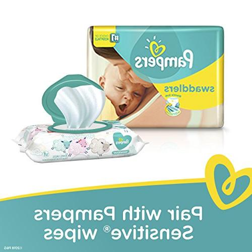 Pampers Swaddlers Newborn Diapers Size
