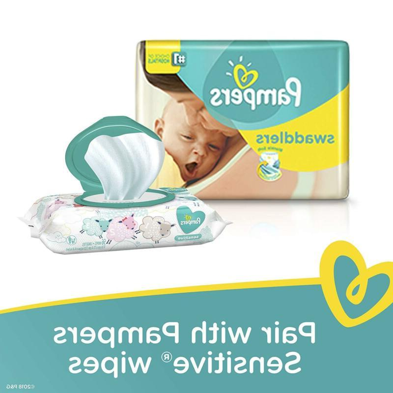 Pampers Swaddlers Diapers Size 1 5 Newborn Month Supply