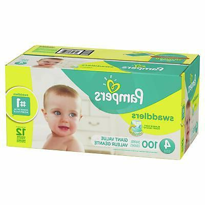 Pampers Swaddlers Size 4, Count