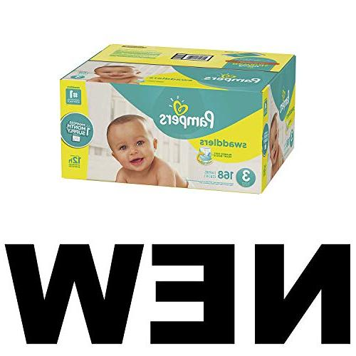 Pampers Diapers Size 3, Count,