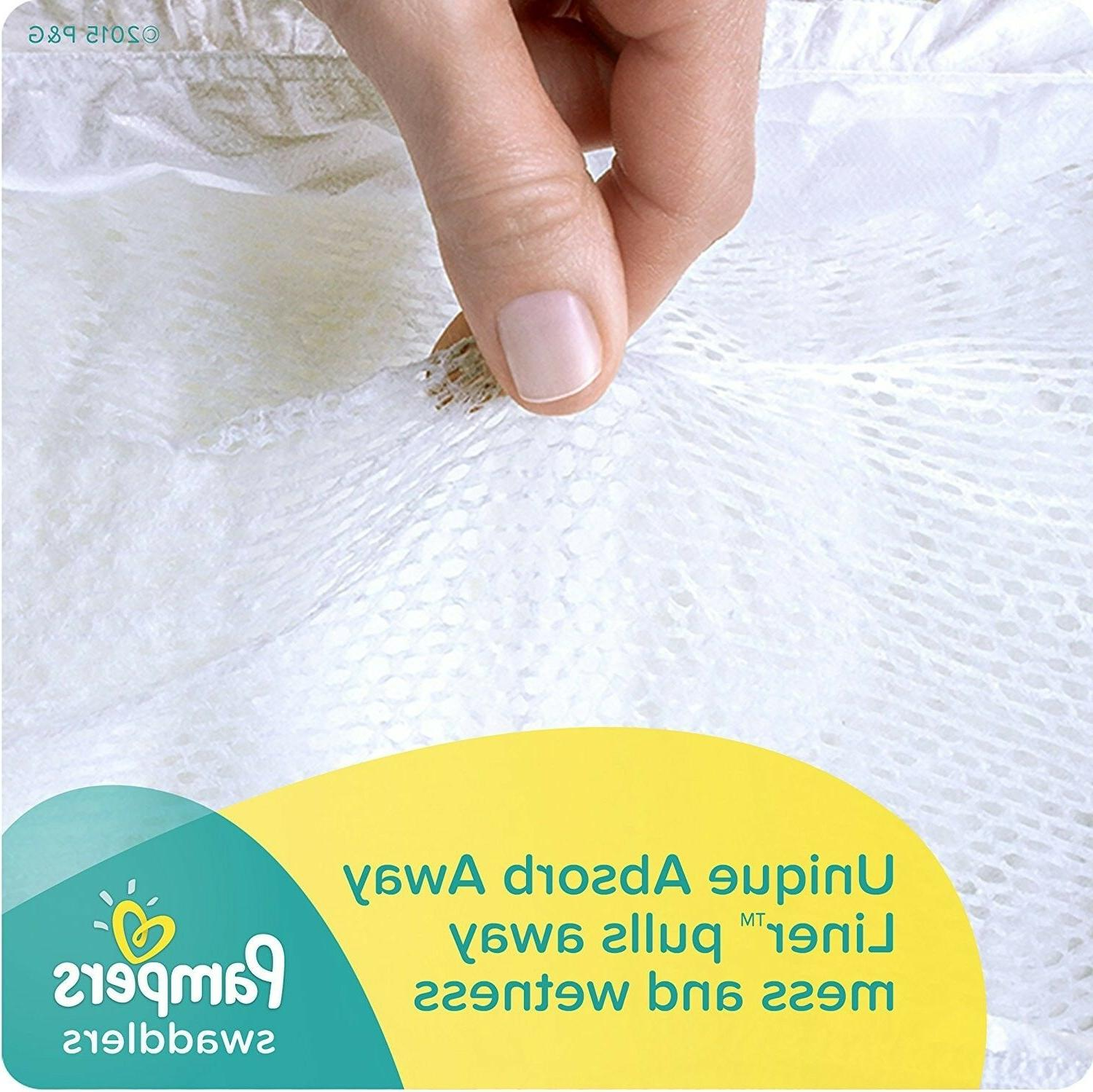 Pampers Disposable Diapers Newborn Size , 88 Count,