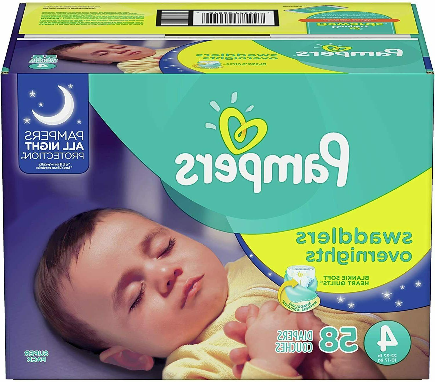 Pampers Overnight Diapers -