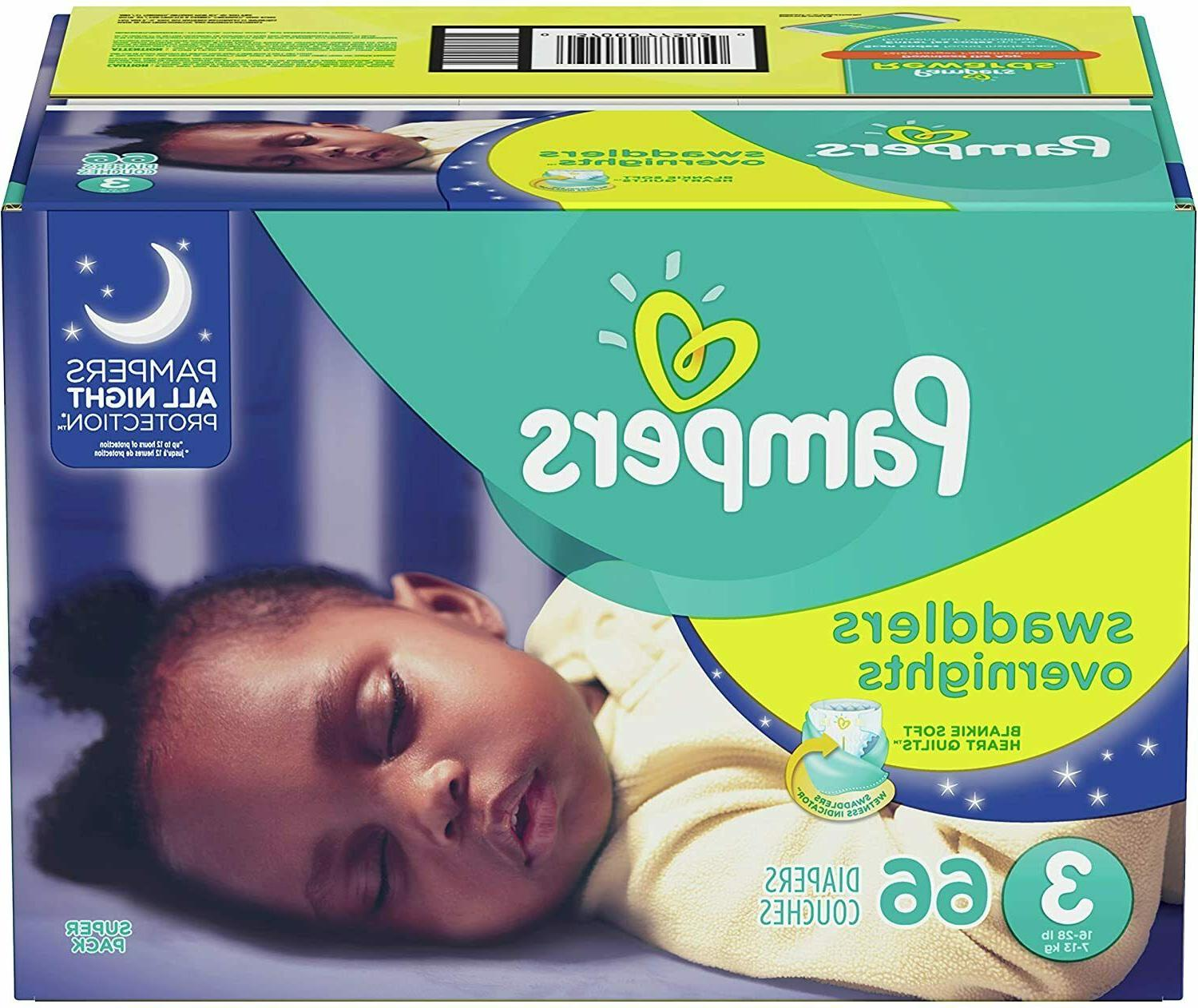 swaddlers overnight diapers select size