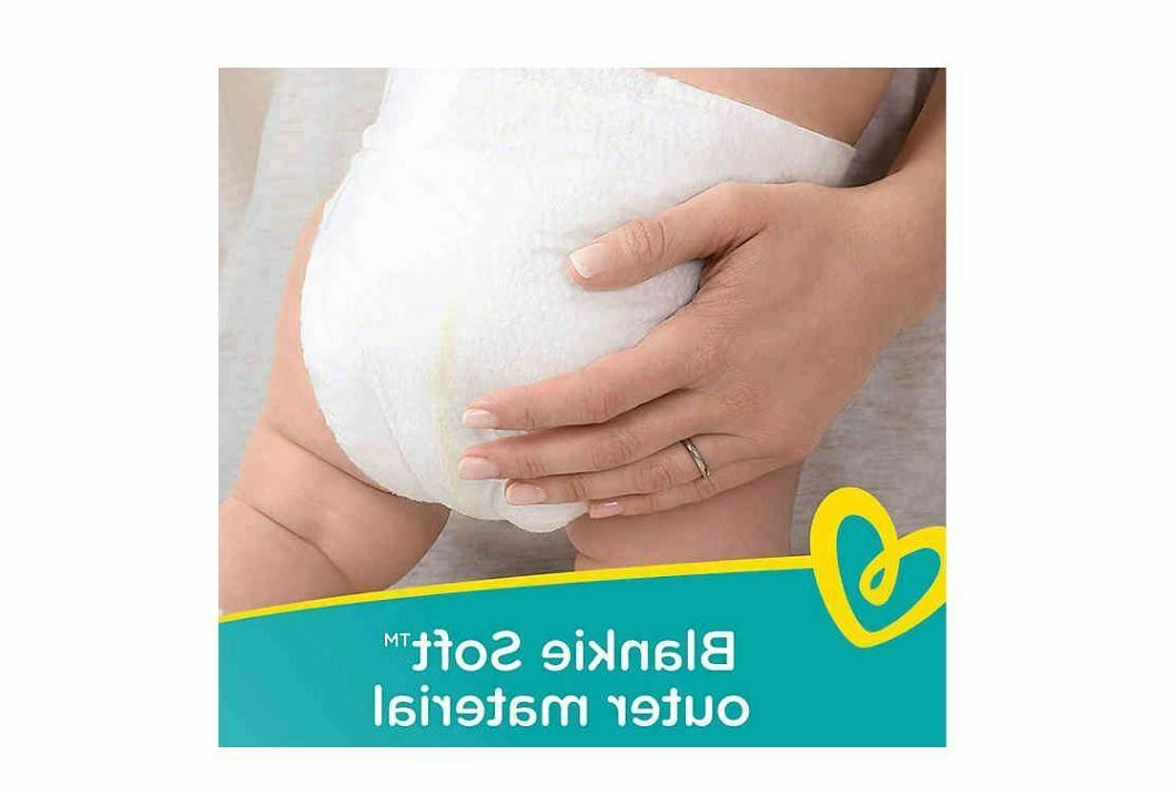 Pampers Swaddlers Size Newborn/1/2/3/4 Pack - -NEW