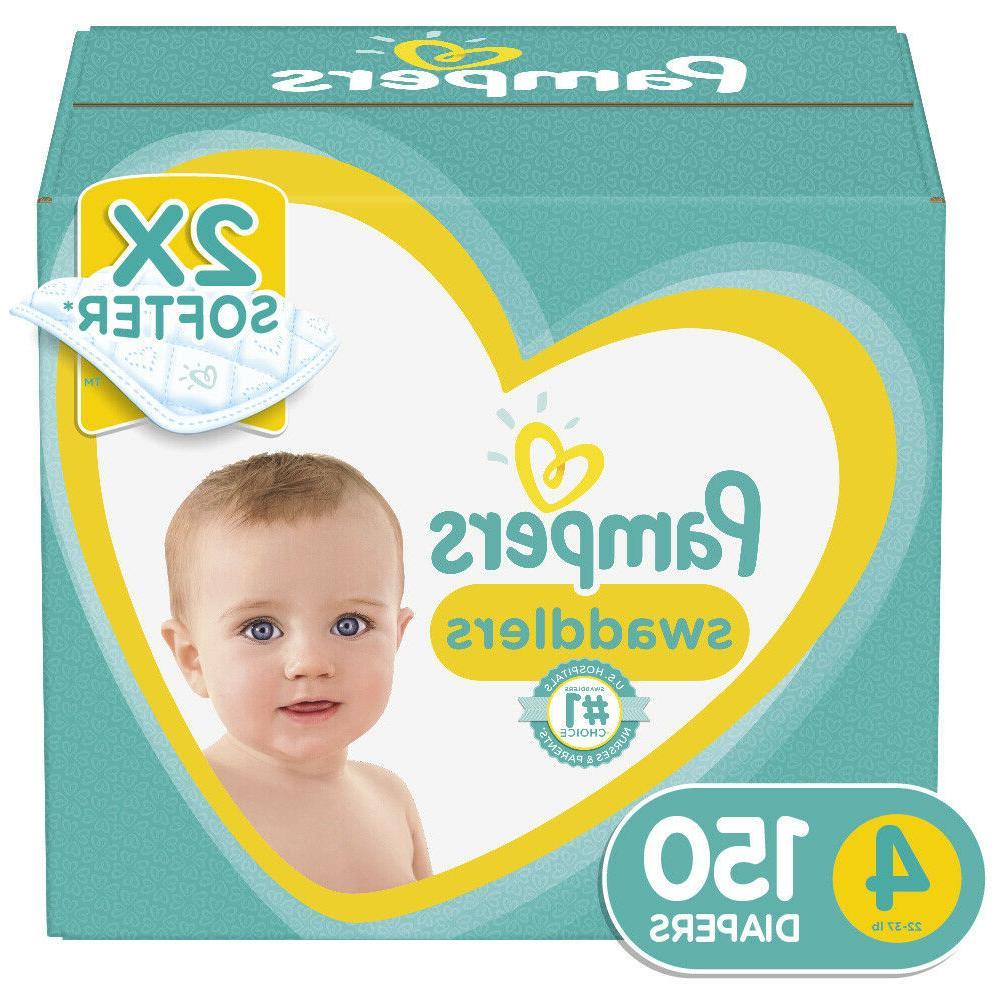 swaddlers soft and absorbent diapers size 4