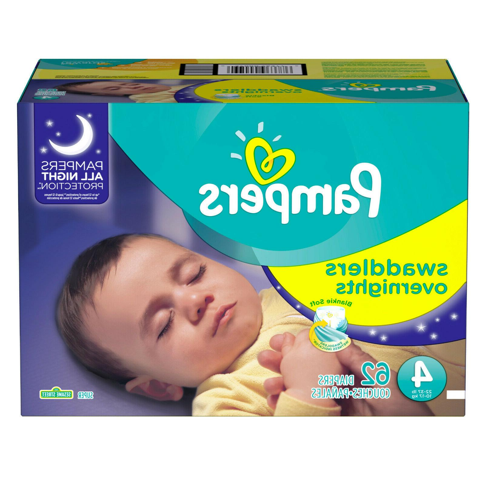 Pampers Swaddlers Absorbent 4, 62 Ct