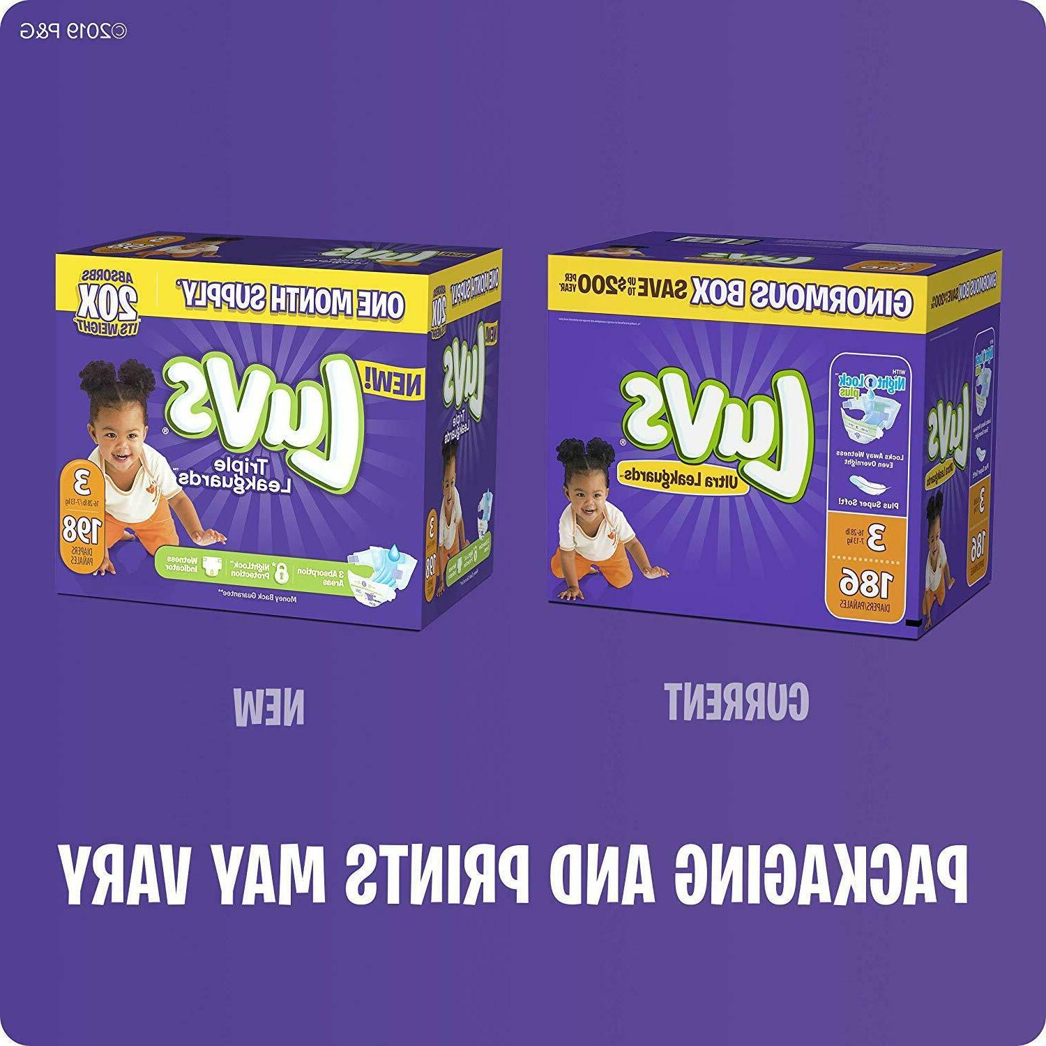 Diapers 1 , 252 Count Ultra Leakguards