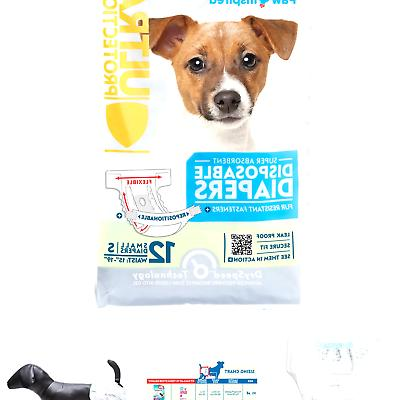 ultra protection disposable dog diapers