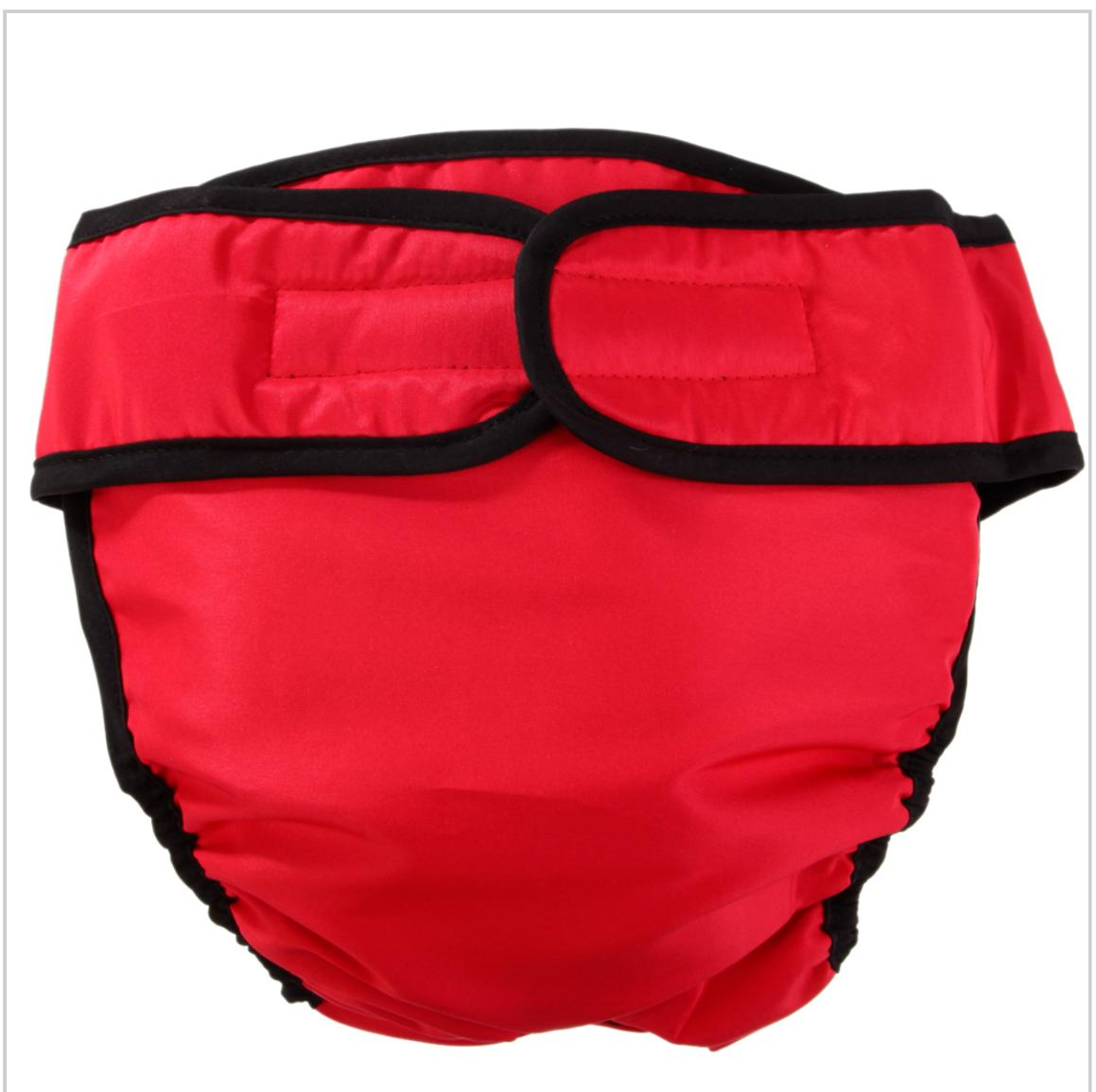 Washable Diaper Pet Puppy Camo Red Black Diapers