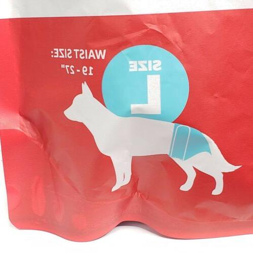 Pet Washable Dog Diapers Male Female Large