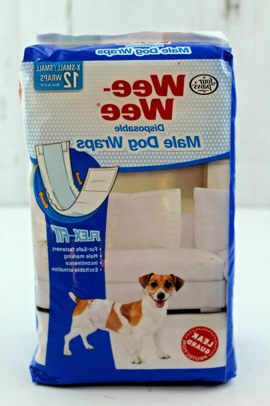 wee disposable dog wraps