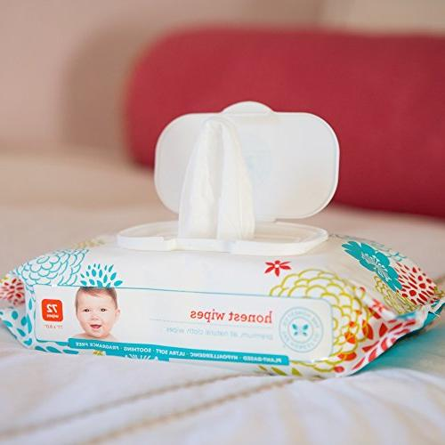 The Honest Company Wipes, Fragrance 72