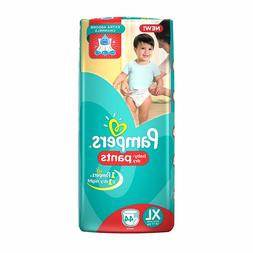 Pampers Large Pants Diapers for Babies 12-17 kg 44 pc-FREE D