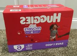 Huggies Little Movers Diapers Size 6, 112 Ct. For babies wei