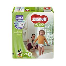 Huggies Little Movers Slip-on Diapers Big Pack 50 CT