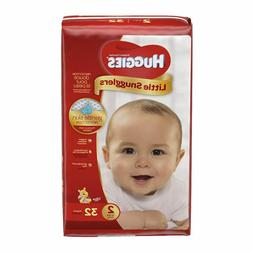 Huggies Little Snugglers Diapers, Size 2 , 32-count