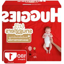 Huggies Little Snugglers Diapers Size 1 180 Count