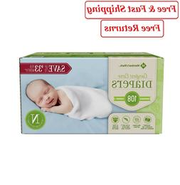Member's Mark Comfort Care Baby Diapers size: Newborn -108 c