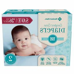 Member's Mark Comfort Care Baby Diapers size 2 -196 ct.