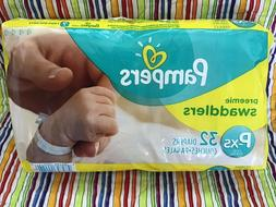 MICRO Preemie Pampers 4lb ~ XS Diapers for Reborn * 32ct ~ B
