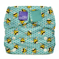 Bambino Mio, Miosolo All-In-One Cloth Nappy, Onesize, Bumble