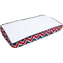 Bacati - MixNMatch Quilted Top Zigzag Gusset Diaper Changing