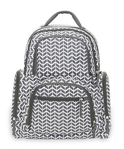 New Carter's On the Move Backpack Diaper Bag - Grey Herringb