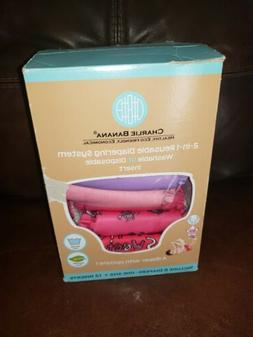 New Charlie Banana 2-IN 1 Reusable Diapering System Washable