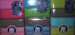 New Gerber 4 pk Solid Diapers, Baby Shower, Burp cloth, Diap