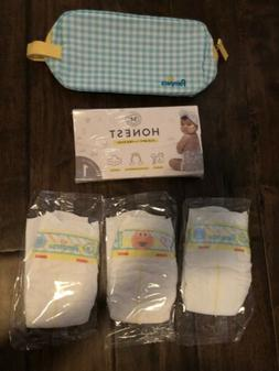 New Pampers & Honest Company Diaper/wipes Samples Size N And