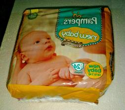 Pampers NEW BABY Diaper - 24 DIAPERS for new baby   skin com