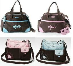 New Baby Diaper Nappy Bag Large Capacity Fashion Backpack Fr