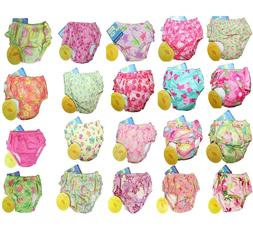 NEW i play Baby Girl's Special Needs Reusable Swim Diaper Sw