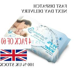 FOR NEW BORN baby Organic Baby Wipes Aqua Water Pure Travel