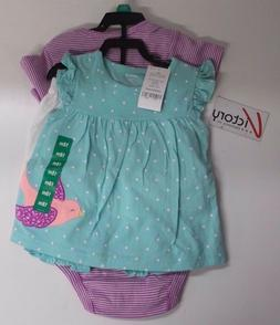 NEW Carter's Baby Clothing Diaper Cover Set 4 Pieces 24 18 M