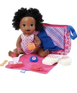 New Baby Alive New Mommy Kit Doll Accessories Diaper Bag Set