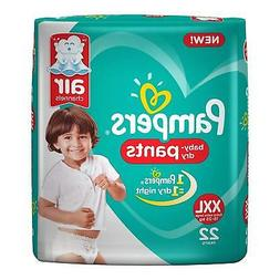 Pampers New Xx Large Size Diapers Pants 22 Count