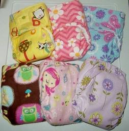 Newborn/XS Fitted Cloth Diaper, 5-12lbs. You pick the fabric