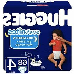 HUGGIES OverNites Diapers, Size 4, 68 ct., Overnight Diapers