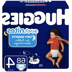 HUGGIES OverNites Diapers, Size 4, 68ct., Overnight Diapers