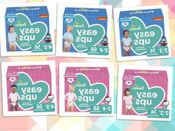 Pampers Easy Ups. Disposable Training Underwear for Girls an