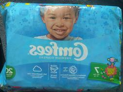Pampers size 7,  1case=80