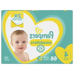 Pampers Swaddlers Diapers Size 4  66ea