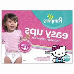Pampers Easy Ups Training Pants for Girls 2T-3T Super Pack -