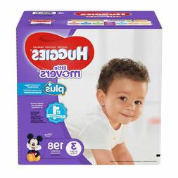 Huggies Plus Diapers Size 3: 16-28lbs, 198ct - Free Shipping