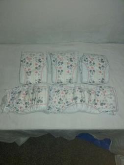Premium Adult Baby Diapers Medium 4 pack front to back