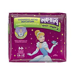 HUGGIES Pull-Ups Girls' Night-Time Training Pants, Big Pak,