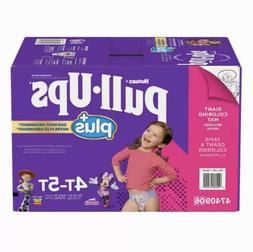 Huggies Pull Ups Training Pants For Girls Size 4T-5T: 38-50l
