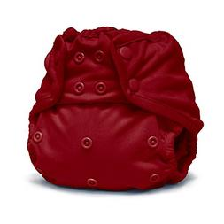 Rumparoz One Size Cloth Diaper Cover Snaps, Scarlet Red