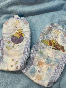 Sample Pack Of 2 Huggies Overnights Baby Diapers - Size 6
